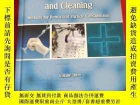 二手書博民逛書店Developments罕見in Surface Contamination and Cleaning:Metho