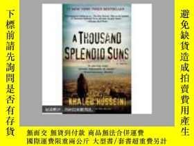 二手書博民逛書店A罕見Thousand Splendid Suns 正本大32開