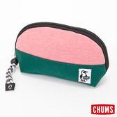 CHUMS 日本 SxN 隨身收納包 化妝包 珊瑚粉/藤綠 CH6006922616