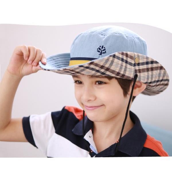 兒童帽 遮陽帽 英倫風漁夫帽兒童帽子嬰兒女童盆帽男童寶寶 夏天遮陽帽  沙灘帽 海灘帽 男女童