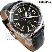 SEIKO 精工錶 SPORTS 5號機械錶 數字時刻日期顯示 黑色皮帶 男錶 SSA297J1 4R37-01D0L