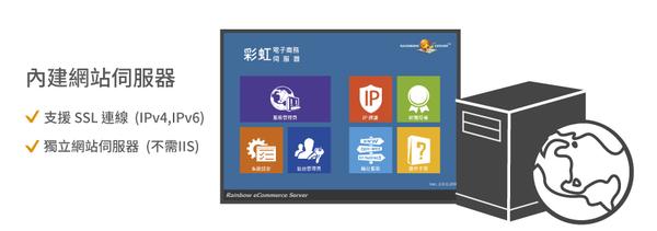 QBoss 彩虹電子商務伺服器 【獨立主機版-ESD下載版】