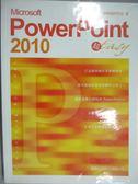 【書寶二手書T8/電腦_ZCW】Microsoft PowerPoint 2010 超 Easy_施威銘研究室_無光碟