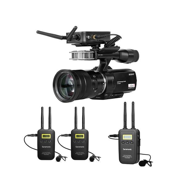 【聖影數位】Saramonic VmicLink5 一對三 無線麥克風套裝 (RX+TX+TX+TX)【公司貨】採訪 拍攝 直播
