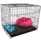 貓籠 狗籠子小型犬小狗籠泰迪狗籠帶廁所室內外大貓籠子兔籠狗圍欄圍籠 MKS 交換禮物