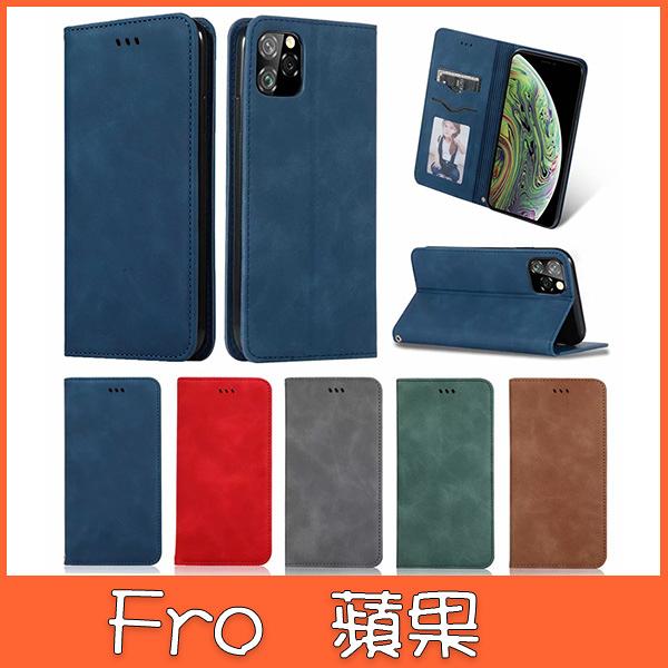 蘋果 iPhone 11 pro max xs max XR IX I8plus I7+ ZD商務皮套 手機皮套 插卡 支架 磁吸 掀蓋殼