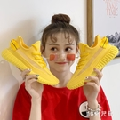 椰子鞋2020新款韓版百搭休閒運動鞋女飛織學生跑步鞋女鞋子潮流 EY11290 【MG大尺碼】