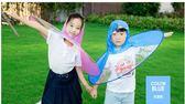 飛碟雨衣小孩小黃鴨斗篷雨衣寶寶抖音兒童雨衣男童女童幼兒園   初見居家