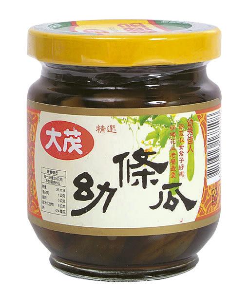 大茂幼條瓜(玻) 170g