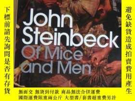 二手書博民逛書店Of罕見Mice and Men 大32開Y146810 Joh
