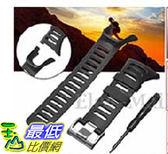 [106美國直購] Watch Band Strap, Amytalk Soft Black Rubber Replacement Watch Band Strap For SUUNTO Ambit 3 PEAK/Ambit 2/1