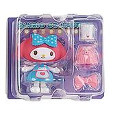 Sanrio 換裝娃娃組 擺飾玩偶 公仔 美樂蒂 圍裙裝 紫