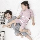 兒童睡衣莫代爾長袖春秋季家居服男童女童寶寶夏季薄款空調服套裝 童趣屋 免運