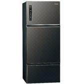 【Panasonic 國際牌】481公升三門變頻冰箱 NR-C489TV-K(星空黑)