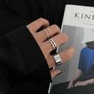 麻花素圈套裝組合戒指女時尚