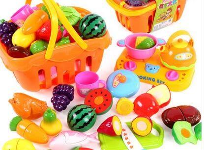 618好康又一發切水果蔬菜玩具兒童過家家生日蛋糕女孩仿真廚房套裝
