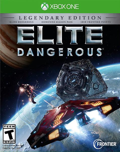X1 Elite Dangerous: The Legendary Edition 精英危險:傳奇版(美版代購)