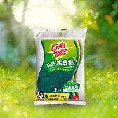 3M百利 爐具專用木漿棉菜瓜布(2片裝)【愛買】