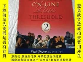 二手書博民逛書店Wall罕見street INSTITUTE Threshold