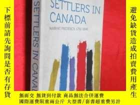 二手書博民逛書店The罕見Settlers in Canada (小16開 )