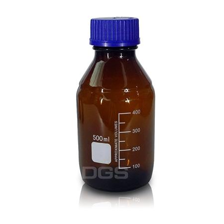《Bato》茶色藍蓋血清瓶 GL45 Bottle with GL45 Cap