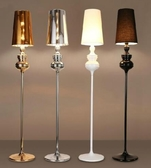 新古典後現代臥室床頭客廳立燈簡約時尚書房燈創意個性衛士落地燈 科炫數位