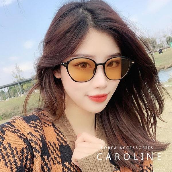 《Caroline》年度最新網紅款潮流行百搭抗UV時尚太陽眼鏡 72561