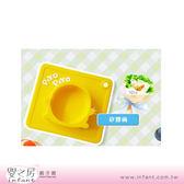 【嬰之房】PiyoPiyo黃色小鴨 一體式防滑矽膠餐具-B款矽膠碗