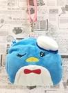【震撼精品百貨】Tuxedo Sam Sanrio 山姆藍企鵝~造型包附繩/零錢包*07116