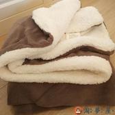 小毛毯沙發蓋毯羊羔絨雙層珊瑚絨午睡午休空調毯【淘夢屋】