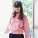 ■Premium Label■  蓬鬆柔軟的毛料針織衫 泡泡袖設計打造甜美感