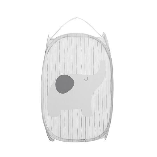 收納籃 玩具籃 洗衣籃 收納箱 置物箱 收納筐 收納簍 分隔分類 可折疊 髒衣籃【L118】米菈生活館