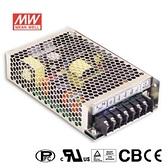 MW明緯 HRP-100-36 36V單組輸出電源供應器(104.4W)