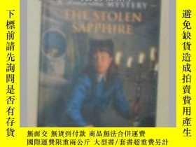 二手書博民逛書店【英文原版書】罕見The Stolen Sapphire [ S