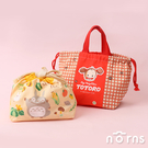 日貨棉質手提束口袋 KB7豆豆龍- 日本進口 Skater 收納袋 小梅 龍貓 手提袋 便當袋