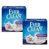 【Ever Clean】藍鑽結塊貓砂-25磅(11.3kg)X2盒-綠標