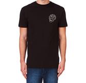 Deus Ex Machina Venice Skull T恤  | 騎士衝浪品牌 -  (黑)