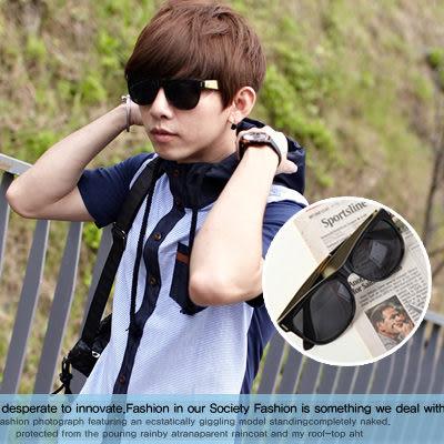 ∥柒零年代∥S/S OutDoor【N7889J】好萊塢時尚款Super風格寬版鏡架眼鏡墨鏡/太陽眼鏡(7272)