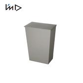 【日本岩谷Iwatani】寬型可分類掀蓋式垃圾桶(附輪)-36L灰
