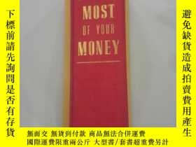 二手書博民逛書店MAKING罕見THE MOST OF YOUR MONEYY2