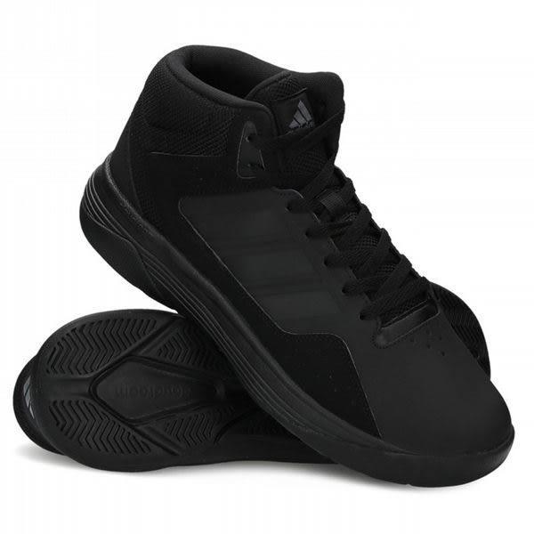 Adidas Cloudfoam Ilation Mid 男 全黑 學生鞋 籃球鞋 球鞋 中筒 AW4651