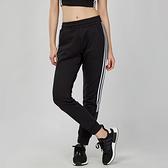 Adidas ID 女款 黑白 舒適 休閒 棉質 運動 長褲 FI9243