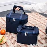 飯盒袋午餐便當包保溫袋包帆布手拎媽咪包帶飯的手提袋鋁箔加厚【樂事館新品】