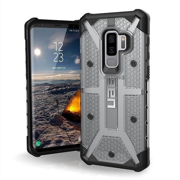 【美國代購】UAG 三星Galaxy S9 Plus 6.2寸 輕巧堅固耐用 軍事防跌落手機殼 Ice