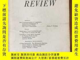 二手書博民逛書店Minnesota罕見LAW REVIEW Vol.70 No.6Y4615 University of Mi