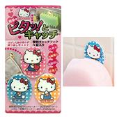 日本製造 創和凱蒂貓魔鬼氈壁貼掛勾(3入/組) SAN-012911