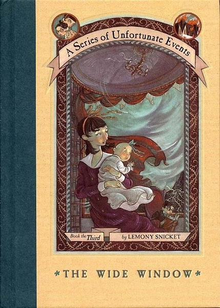 (二手書)Series of Unfortunate Events #03: The Wide Window