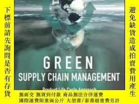 二手書博民逛書店Green罕見Supply Chain Management: