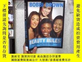 二手書博民逛書店BOBBI罕見BROWN BEAUTY RULES 博比·布朗美