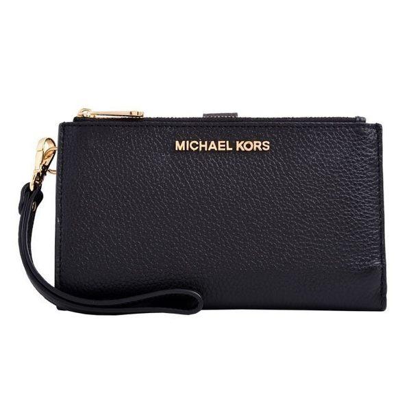 【蟹老闆】MICHAEL KORS 手機皮夾 全真皮 35F7GTVW9L 黑色
